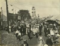Crowds at the Delaware State Fair
