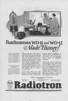Radiotrons WD-11 and WD-12 Made History!