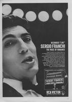 Recorded 'Live' Sergio Franchi, the Voice of Romance