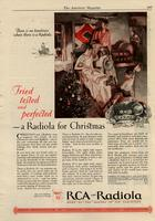 Tried Tested and Perfected - A Radiola for Christmas