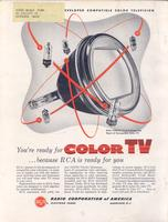 You're Ready for Color TV Because RCA is Ready for You