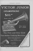Victor Junior Gramophone