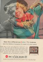 See the Difference Color TV Makes and the Lifetime of Progress It's Made in 5 Short Years