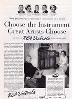 Choose the Instrument Great Artists Choose: The Genuine RCA Victrola