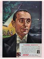 Vladimir Horowitz: One of a Series of Portraits of Great Victor Artists