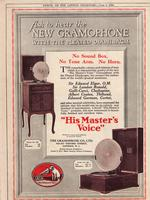 Ask to Hear the New Gramophone With the Pleated Diaphragm