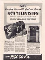 New York Personalities Find New Thrill in RCA Television