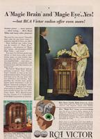 A 'Magic Brain' and 'Magic Eye'...Yes! - but RCA Victor Radios Offer Even More!