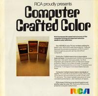 RCA Proudly Presents Computer Crafted Color