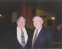 Bert C. Roberts, Jr. and Jack Goeken at John Worthington's retirement party