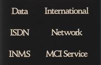 White text of MCI services on black background