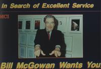 William G. McGowan Excellence in Service advertisement