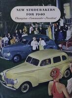 New Studebakers for 1940