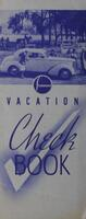Studebaker Vacation Check Book