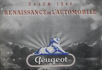 Salon 1946 : Renaissance de l'Automobile
