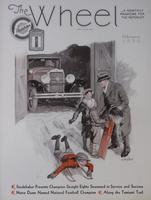 Studebaker Wheel : a Monthly Magazine for the Motorist [February 1930]
