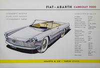 Fiat-Abarth : Cabriolet 2200