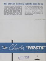 Chrysler Firsts