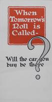 When Tomorrow's Roll Is Called, Will the Car You Buy Be There?