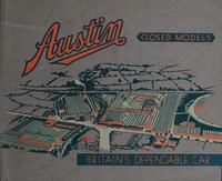 Austin Closed Models : Britain's Dependable Car