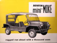 Austin Mini-Moke : Rugged Run-About with a Thousand Uses