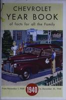 Chevrolet Yearbook of Facts for All the Family 1940