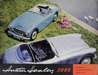Austin Healey 3000 : Two-Seater or Occasional Four-Seater Sports Car