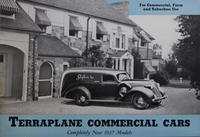 Terraplane Commercial Cars : Completely New 1937 Models for Commercial, Farm and Suburban Use