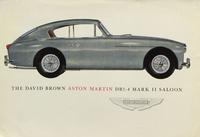 The David Brown Aston Martin DB2-4 Mark II Saloon