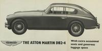 The Aston Martin DB2-4: With extra occasional seats and generous luggage space