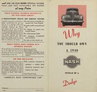 Why you should own a 1940 Nash instead of a Dodge