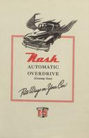 Nash Automatic Overdrive (Cruising Gear) Puts Wings on Your Car