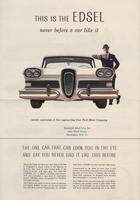 This is the Edsel : Never Before a Car Like It