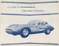 An exciting new experimental Chevrolet Corvette