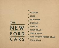 New Ford Cars