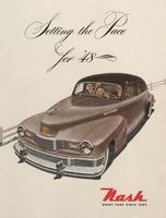 Setting the Pace for 1948 : Nash Great Cars since 1902