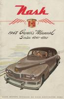 Nash 1948 Owner's Manual Series 4840 - 4860