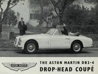 The Aston Martin DB2-4 Drop-Head Coupe
