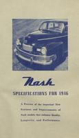 Nash Specifications for 1946