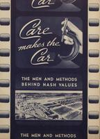 Car Care Makes the Car : The Man And Methods Behind Nash Values