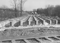 Bridge under construction on U.S. Route 1 (Chadds Ford, Pa.)