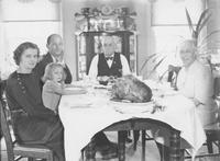 Turkey dinner at Seal family home (Chadds Ford, Pa.)