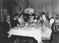 Christmas dinner at Seal family home (Chadds Ford, Pa.)
