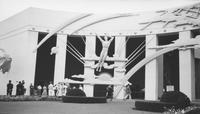 Architectural detail at New York World's Fair