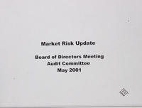 Audit and Compliance Committee minutes [April 30, 2001]