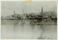 Andover Furnace from across Delaware River (Phillipsburg, N.J.)