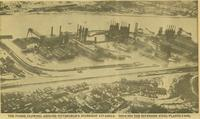 Flooding at Carrie Furnaces, United States Steel Corporation (Rankin, Pa.)