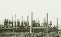 Blast furnaces D, E, F, and G at Saucon Plant (Bethlehem, Pa.)