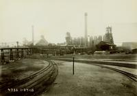 Steel-works and blast furnaces, Bethlehem Steel Company (Sparrows Point, Md.)