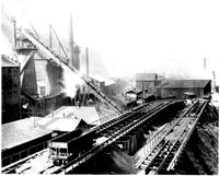 Clinton furnace with high line, Clinton Iron and Steel Company (Pittsburgh, Pa.)